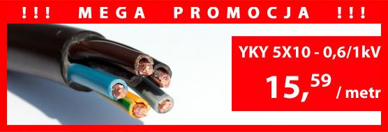 MEGA PROMOCJA - YKY 5x10